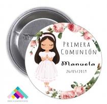 CHAPA COMUNIÓN Mod. Manuela