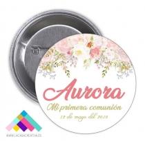 CHAPA COMUNIÓN Mod. Aurora