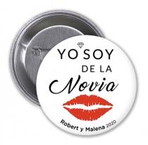CHAPA YO SOY DE LA LA NOVIA
