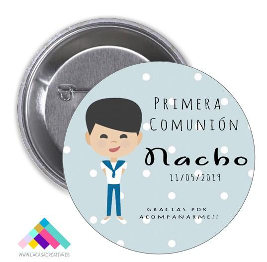 CHAPA COMUNIÓN Mod.Nacho