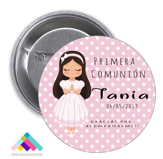 CHAPA COMUNIÓN Mod Tania