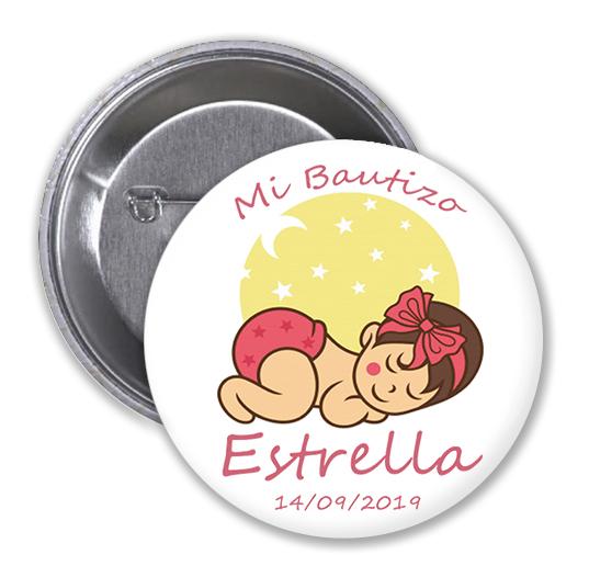 CHAPA BAUTIZO Mod. Estrella